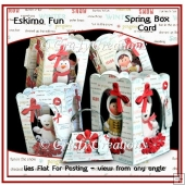 Eskimo Fun - Spring Box Card