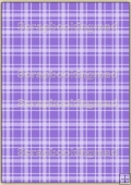A4 Backing Papers Single - Purple Gingham - REF_BP_135