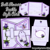 Bell Flowers Buckle Style Card