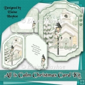 All is Calm Christmas Card Kit