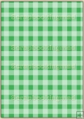 A4 Backing Papers Single - Green Gingham - REF_BP_149