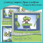 Country Computer Mouse Cardfront