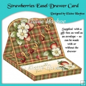 Love Strawberries Easel Drawer Card