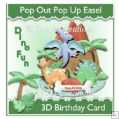 Dino Fun Easel Card