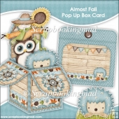 Allmost Fall Pop Up Box Card