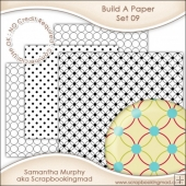 Build A Paper Set 09 - PNG FILES & .PAT File