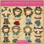 Snicklefritz Wreath Kids Graphic Collection - REF - CS