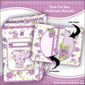 Time For Tea Stationery Box Set