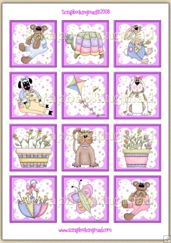 Spring Fever Topper Sheet PDF Download