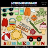 Summer Fun ClipArt Collection