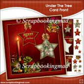 Under The Tree Card Front & Insert Panel
