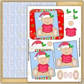 Cute From Both Of Us At Christmas PDF Decoupage Download