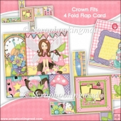 Crown Fits 4 Fold Flap Card & Envelope
