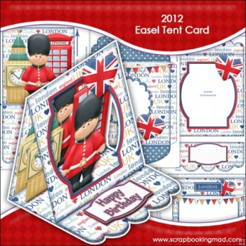2012 Easel Tent Card