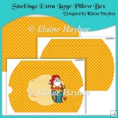 Stocking 2 Extra Large Pillow Box