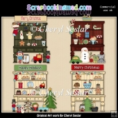 The Christmas Hutch ClipArt Collection