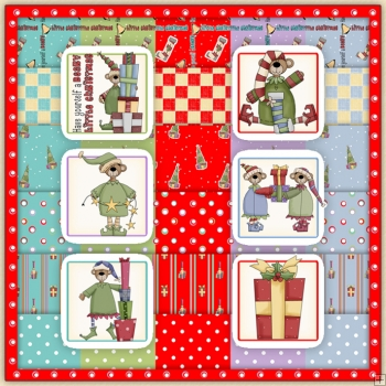 Christmas Holiday Bears Download Collection 125 Items