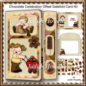 Chocolate Celebration Offset Gatefold Card Kit