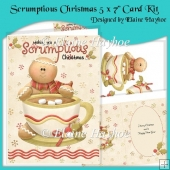 Scrumptious Christmas 5 x 7 Card Kit