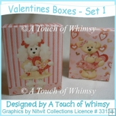 Valentines Boxes - Set 1