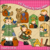 Fall Bumpkins ClipArt Graphic Collection