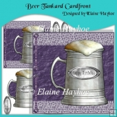 Beer Tankard Cardfront