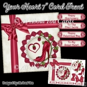 Your Heart 7 Inch Card Front