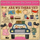 Wee Folk Vacation Graphic Collection - REF - CS