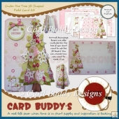 Under the Tree 3D Shaped Fold Card Kit
