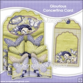 Glourious Concertina Card & Envelope
