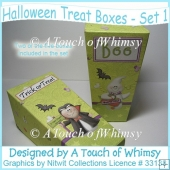 Halloween Treat Boxes - Set 1