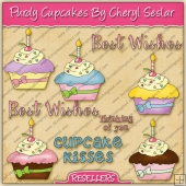 RESALE ART WORK - Purdy Cupcakes Collection