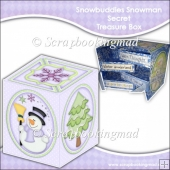 Snowbuddies Snowman Secret Treasure Box