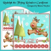 Rudolph the Flying Reindeer Cardfront