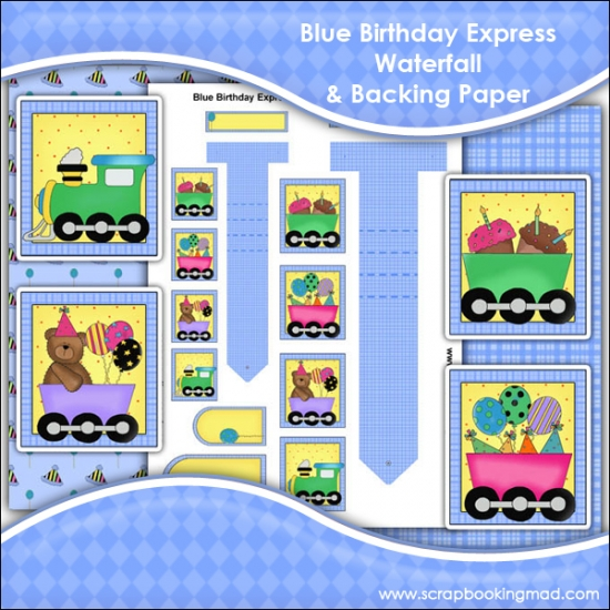Blue Birthday Express Waterfall Download - Click Image to Close