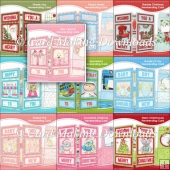 FREE WHEN U SPEND �10 - 10 NEVERENDING CARD KITS - SET 13
