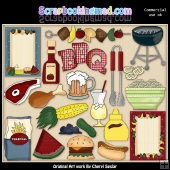 BBQ ClipArt Graphic Collection