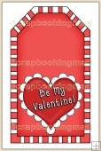 Red Valentine Tag - REF_T314