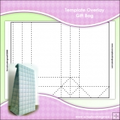 Template Overlay Gift Bag Sheet