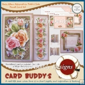 Rosy Glow Asymmetric Fold & Side Panel Card Kit
