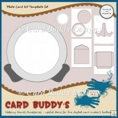 Plate Card Kit Template Set