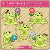 Fat Flower Frogs Graphic Collection - REF - CS