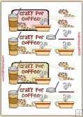Crazy For Coffee PDF Decoupage Download