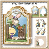 Betsy Bunny Shaped Card Kit