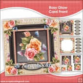Rosy Glow Pyramage Card Front Kit