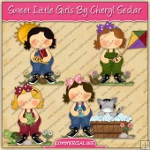 Sweet Little Girls Graphic Collection - REF - CS