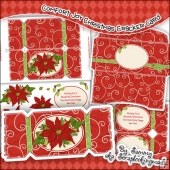 Comfort & Joy Christmas Cracker Card Download