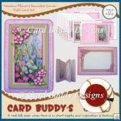 Meadow Flowers Rounded Corner Fold Card Kit