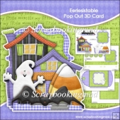 Eeriesistable Pop Out 3D Card & Envelope