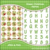 Green Christmas Alphas